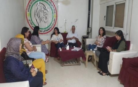 رئيس المجلس الوطني يجتمع مع اعضاء مكتب المرأة والطفولة في مدينة قامشلو
