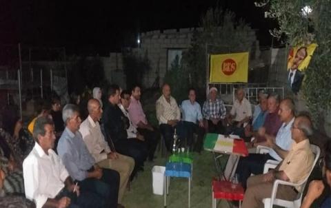 منظمة شرقي قامشلو لفرع سنجق التابع لـ PDK-S تنظم ندوة تنظيمية
