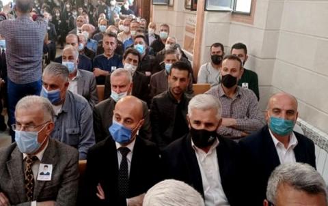 Şandeke PDK-Sê beşdarî di merasîma bixaksipartina Xorî Murad Murad kir