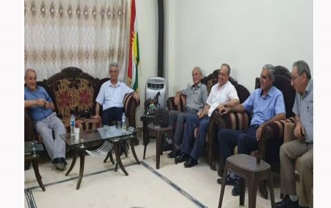 حزب المساواة يلتقي مع الحزب الديمقراطي الكوردستاني سوريا في قامشلو