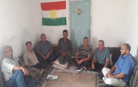 المجلس المحلي في تل تمر يعقد اجتماعه الاعتيادي