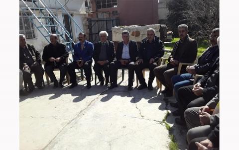 وفد من مجلس محلية الشهيد نصر الدين برهك يزور محلية تربه سبية للمجلس الوطني الكوردي