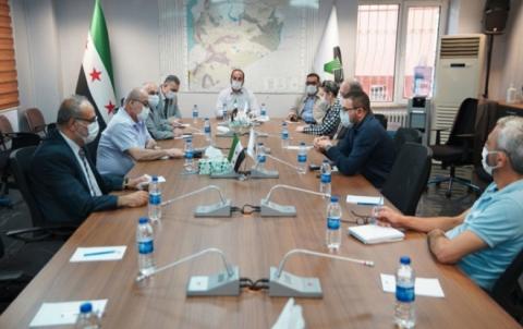 اجتماع موسع للائتلاف الوطني مع ممثليه في هيئة التفاوض واللجنة الدستورية السورية