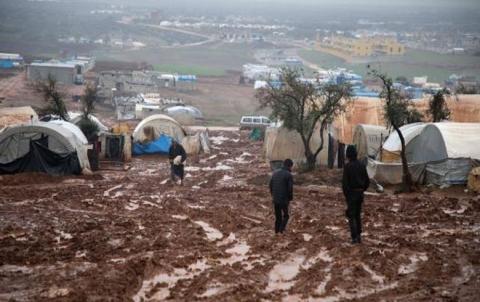 N.Y : Di heyama  8 mehan de 700 hezar sivîl ji Idlibê derbeder bûne