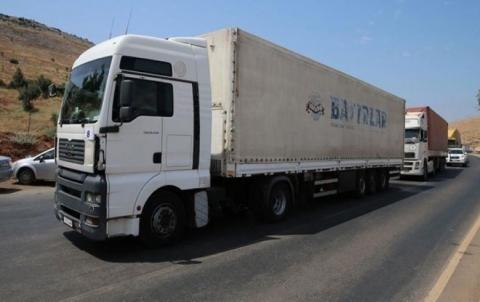 الأمم المتحدة ترسل 53 شاحنة محملة بالمساعدات للمحتاجين بإدلب