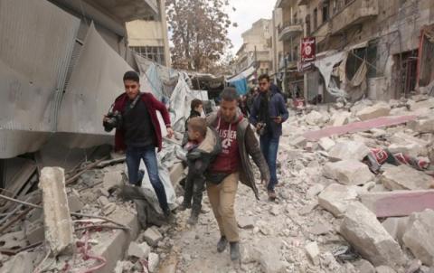 الأمم المتحدة: الضربات الجوية تستهدف مستشفيات ومخيمات في شمال غرب سوريا