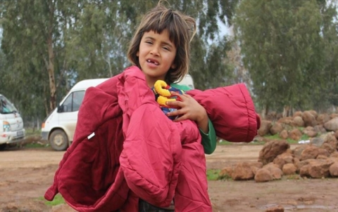 N.Y karwaneke alîkariyên mirovî rêkir bajarê Idlibê