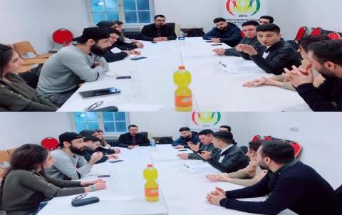 محلية المانيا لاتحاد الطلبة تعقد اجتماعا  في المانيا