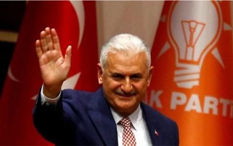 يلدرم يتنحى عن رئاسة البرلمان التركي