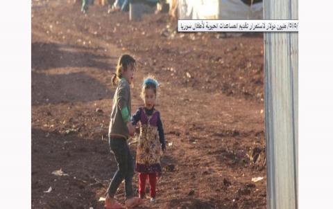 اليونيسف: نحتاج /575/ مليون دولار لاستمرار تقديم المساعدات الحيوية لأطفال سوريا