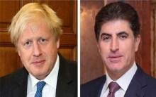 رئيس إقليم كوردستان يدعو بالشفاء العاجل لرئيس الوزراء البريطاني