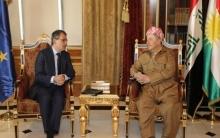 الرئيس بارزاني يجدد قلقه على مستقل الشعب الكوردي في كوردستان سوريا