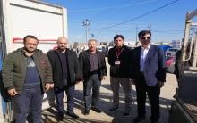ممثلية إقليم كوردستان للـ ENKS تسلم أدوية أطفال لمخيم بردرش