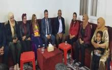 منظمة دهوك للـ PDK-S تزور عوائل الشهداء بمناسبة اليوم العالمي للمرأة