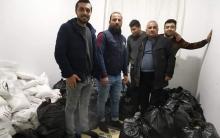 منظمة له شكرێ روژ توزع سلات غذائية على العوائل المحتاجة في مجمع وارسيتي