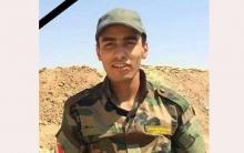 ستة أعوام على استشهاد البيشمركة علي شيخموس في الحرب ضد داعش الإرهابي