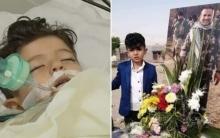 وفاة الطفل بريار حزنا على استشهاد أبيه البيشمركة