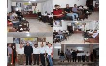 وفد من اتحاد الطلبة والشباب الديمقراطي الكوردستاني – روژآفا يزور مكتب PDK-S في زاخو