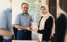 لاجئة كوردية تنال المرتبة الأولى في كليةٍ بجامعة صلاح الدين