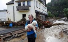 فيضانات تودي بحياة العشرات في ألمانيا وبلجيكا