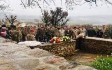 وفد من قوات التحالف الدولي في إقليم كوردستان  يزور ضريح الخالدين في بارزان