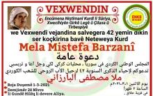 ENKSê salvegera koçabarkirina Mela Mistefa Barzanî li gundê Helêq  vedijîne