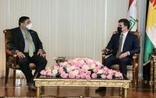 الرئيس نيجيرفان بارزاني يستقبل نائب المبعوث الأمريكي الخاص لسوريا ديفيد براونشتاين في هولير