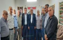 وفد من الحزب الديمقراطي الكوردستاني يزور مكتب الـ PDK-S في دوميز