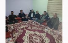 مسؤول منظمة لشكرى روژ للـ PDK-S يزور عائلة الشهيد أبو يلماز في دوميز