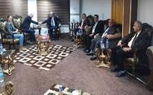 وفد من المجلس الوطني الكوردي يلتقي بالسفير الامريكي وليام روباك