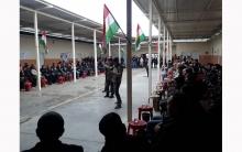 الحزب الديمقراطي الكوردستاني- سوريا يحيي ذكرى اغتيال القيادي نصرالدين برهك في مخيم الفايدة