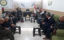 عضو هيئة رئاسة المجلس الوطني يجتمع مع محلية كركي لكي للمجلس الوطني الكوردي
