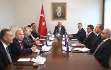 Şandeke Opozisyona Sûriyê  bi wezareta derve ya Tirkiyê re civiya