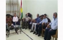 الحزب الديمقراطي الكوردستاني – سوريا يجتمع مع يكيتي الكوردستاني الحر في قامشلو