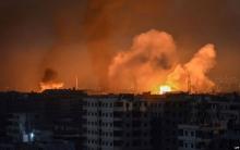 قصف إسرائيلي على مواقع عسكرية في سوريا