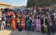 مكتب المرأة والطفولة يحتفل بيوم المرأة العالمي في قامشلو