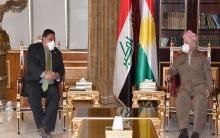 الرئيس بارزاني يستقبل نائب المبعوث الخاص لوزارة الخارجية الأمريكية لشؤون سوريا