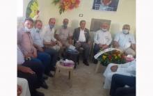 منظمة كوجرات للحرب الديمقراطي الكوردستاني- سوريا تقدم واجب عزاء القيادي محمد امين عباس