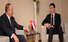 رئيس اقليم كوردستان وجاويش اوغلو يتباحثان اوضاع المنطقة