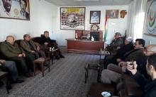 أحد بيشمركة ثورتي ايلول وكولان يزور مكتب الحزب الديمقراطي الكوردستاني – سوريا في زاخو