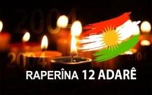 بيان بمناسبة الذكرى السنوية الخامسة عشرة لانتفاضة ١٢اذار ٢٠٠٤