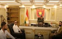 اتحاد الطلبة والشباب الديمقراطي الكوردستاني - روجآفا يهنىء قيادة بيشمركة روج