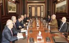 الرئیس بارزاني يستقبل وفد من المجلس الوطني الكوردي
