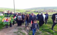 Xwecehiya Girkê legê ya ENKSê 4emîn salvegera şehîdbûna pêşmerge Mihmed Reşîd li gundê Gêrê vejand