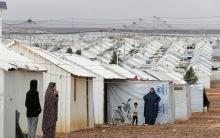 Uman hurguliyên minheyên Ewropa ji penaberên Sûriyê re li Urdunê dide xuyanî