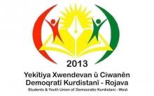 بيان بمناسبة الذكرى الثامنة لتأسيس إتحاد الطلبة والشباب الديمقراطي الكردستاني- روج افا