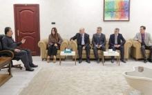 وفد من اتحاد كتاب كوردستان سوريا يجتمع مع وزير الثقافة والشباب بإقليم كوردستان