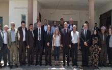 وفد من فرع 8 للحزب الديمقراطي الكوردستاني برئاسة علي عوني يزور مكتب الـ PDK-S في زاخو