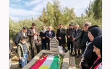 Li Zaxo şandeke PDK-Sê û Dezgeha Malbatên Şehîdên K.Sûriya 6emîn salvegera şehîd Welat Elî vejand