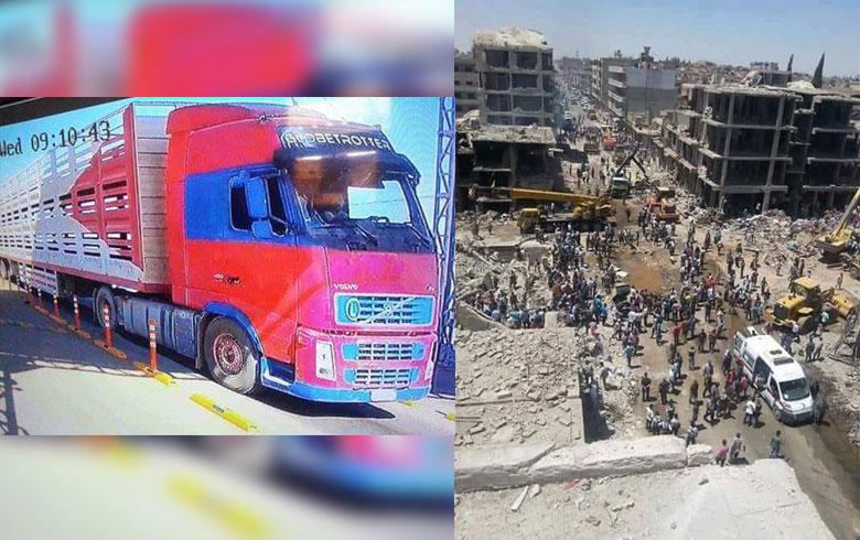 الذكرى الثالثة للتفجير الإرهابي الذي استهدف حي الغربي في قامشلو